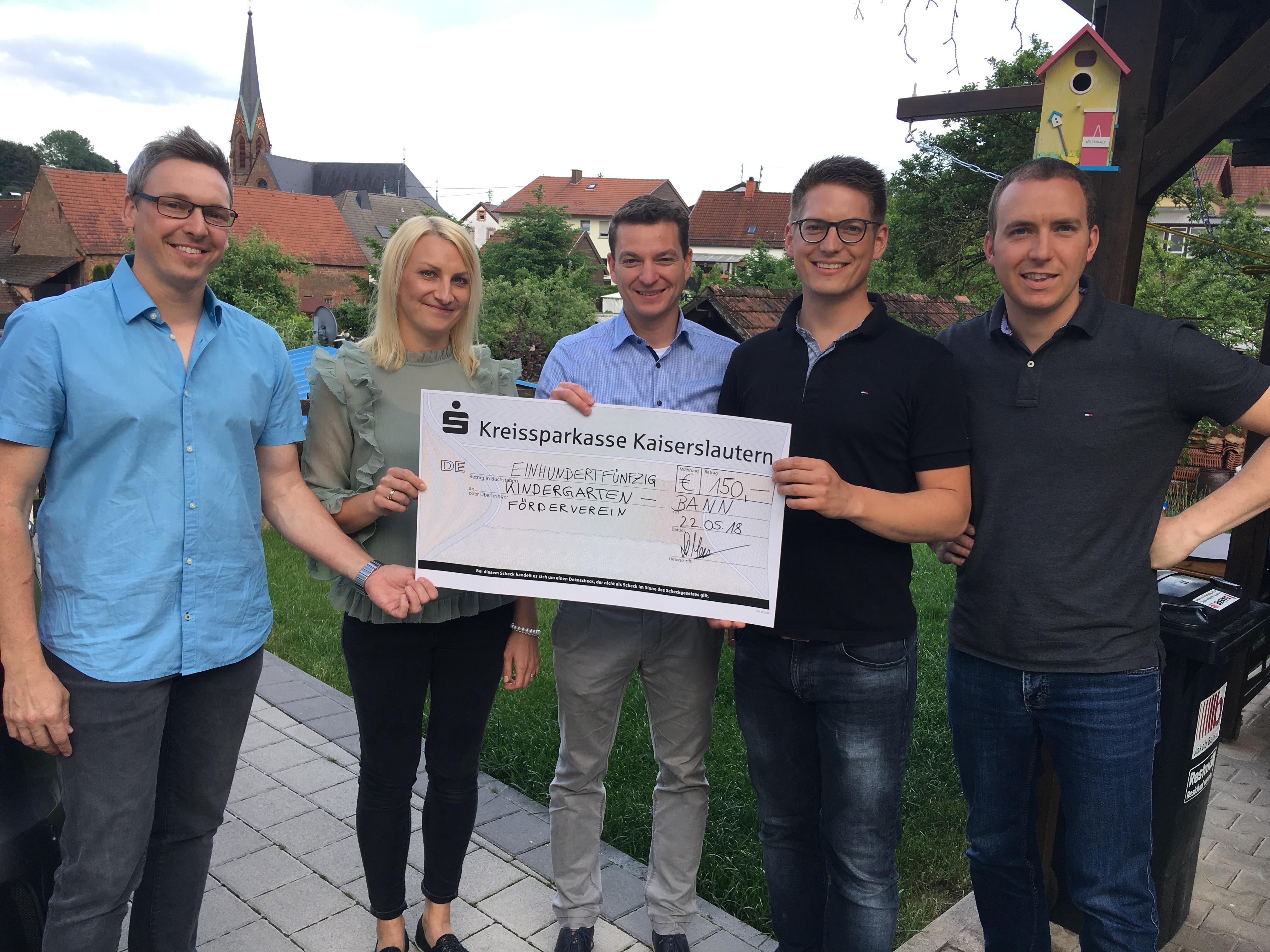 CDU Spendenübergabe 22.05.2018