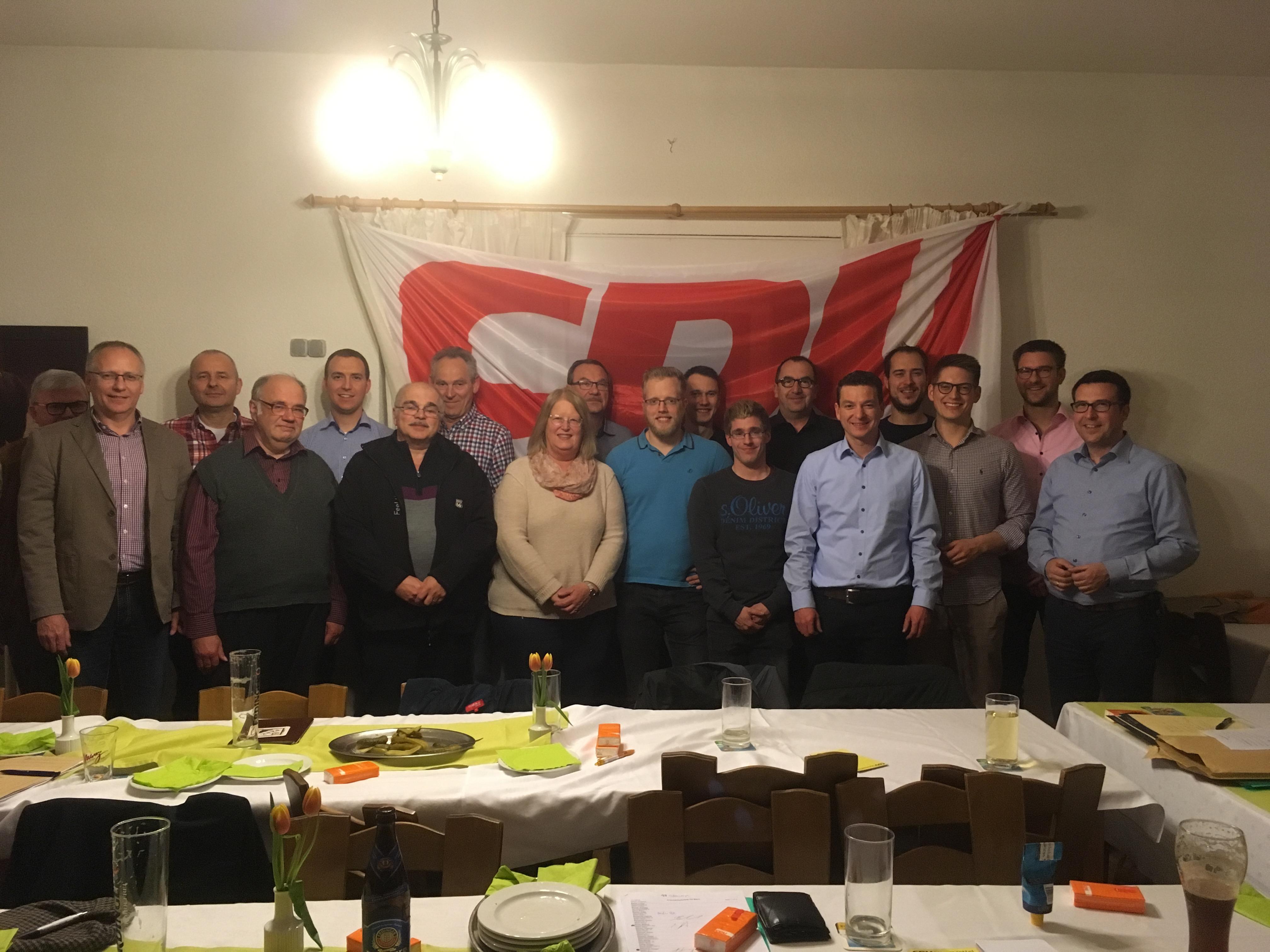 Mitgliederversammlung CDU Bann 2018